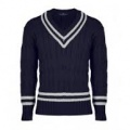 Photo Navy blue cricket jumper